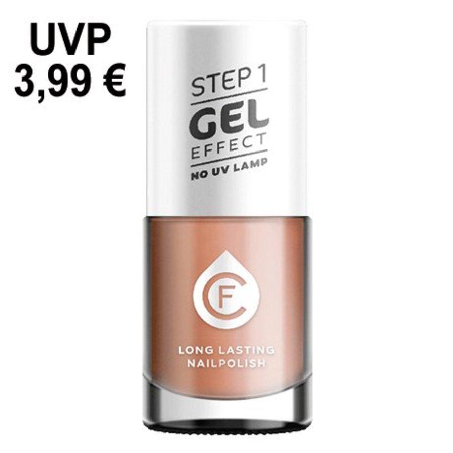 CF-gel effect nagellak, kleurnr. 126, nude