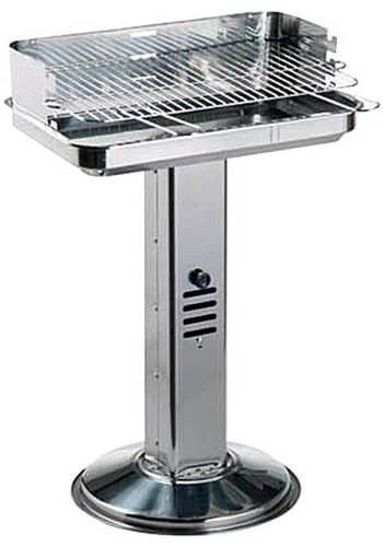 Neckermann Houtskoolbarbecue - RVS - 51x35x64 cm