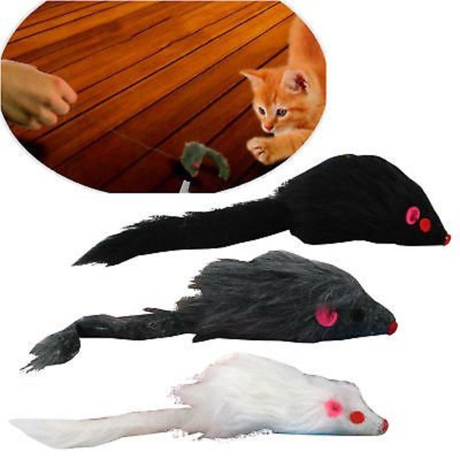 Kattenspeeltje muis - Assorti