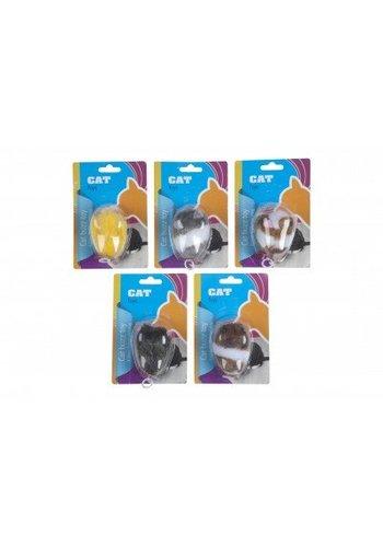 Neckermann Kattenspeelgoed - opwindbaar  - 6x5 cm - assorti