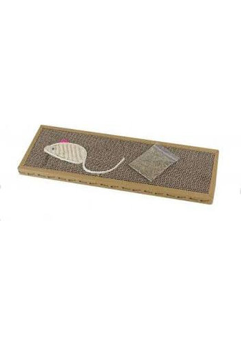Neckermann Tapis crabe pour chat - 38x12,5x1,8 cm