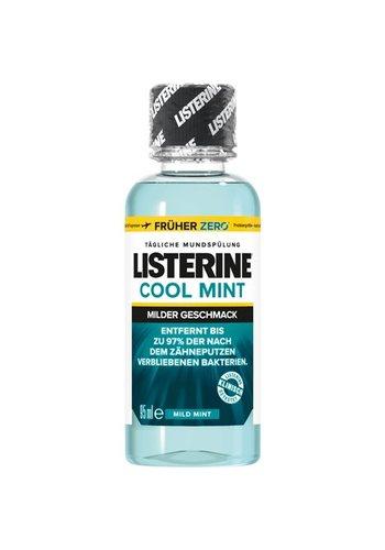 Listerine Mundwasser Listerine 95ml milden Geschmack