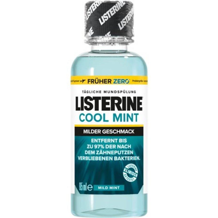 Mundwasser Listerine 95ml milden Geschmack