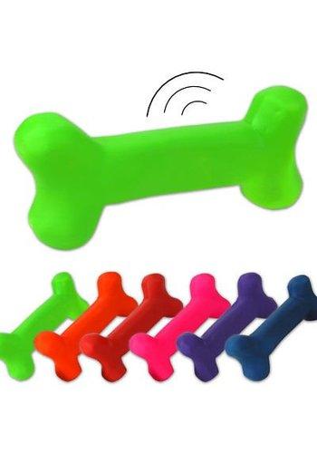 Neckermann Speelgoedbot voor de hond - 16x8 cm - assorti