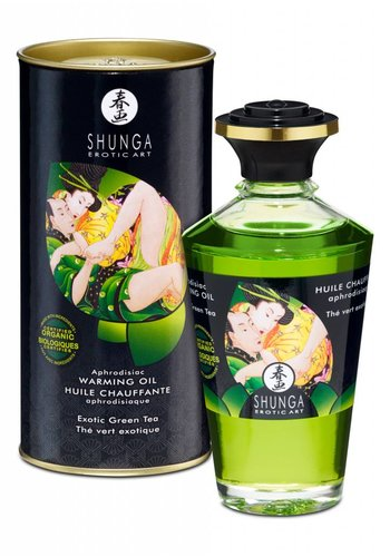Shunga Huile réchauffante aphrodisiaque 100ml