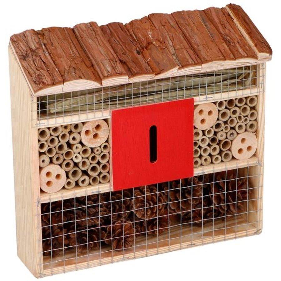 Insectenhotel - 30x10x28 cm