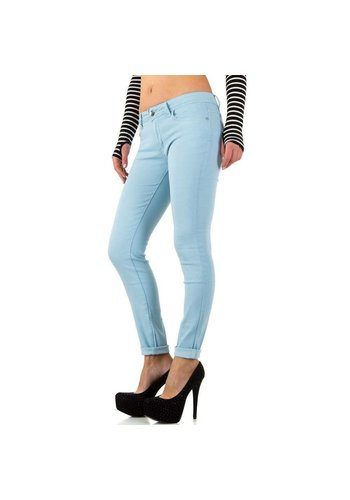 HELLO MISS Damen Jeans - LT.blau