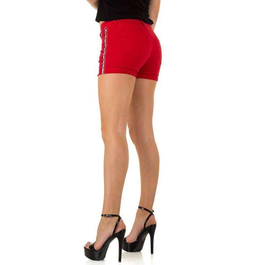 Damen Shorts - rot