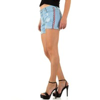 Damen Shorts - blau