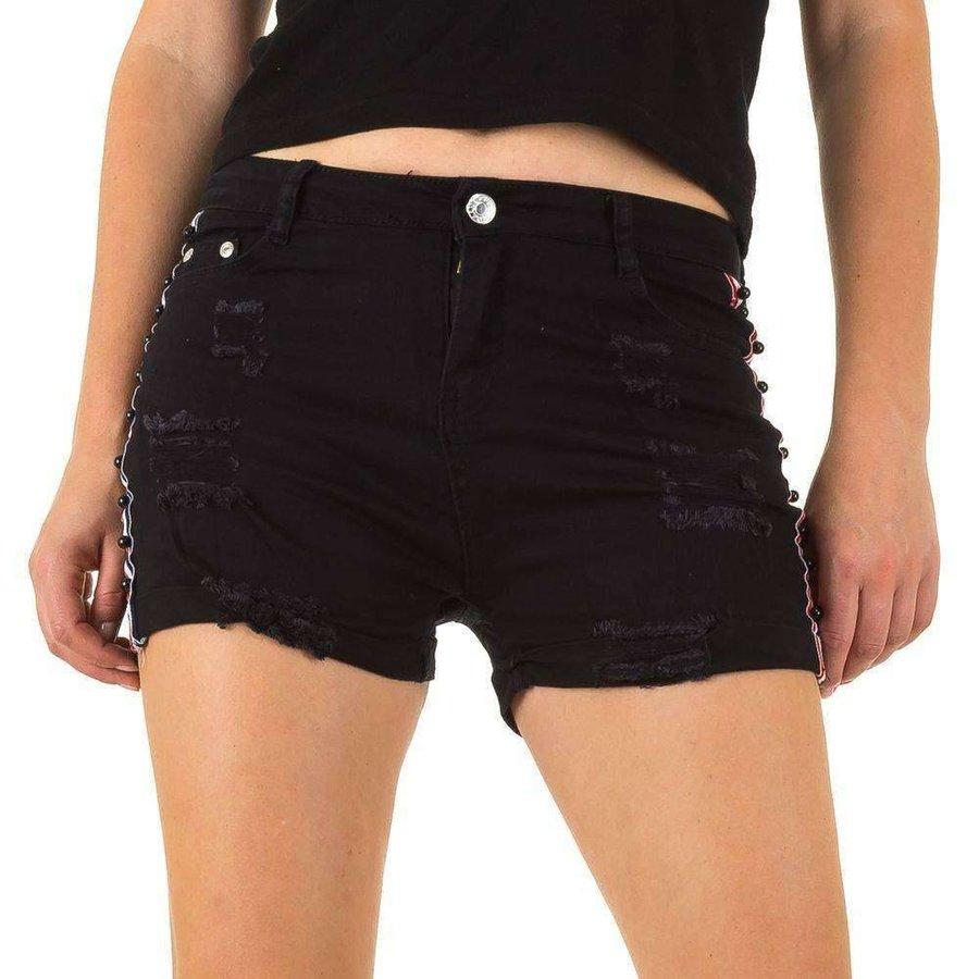 Damen Shorts - schwarz