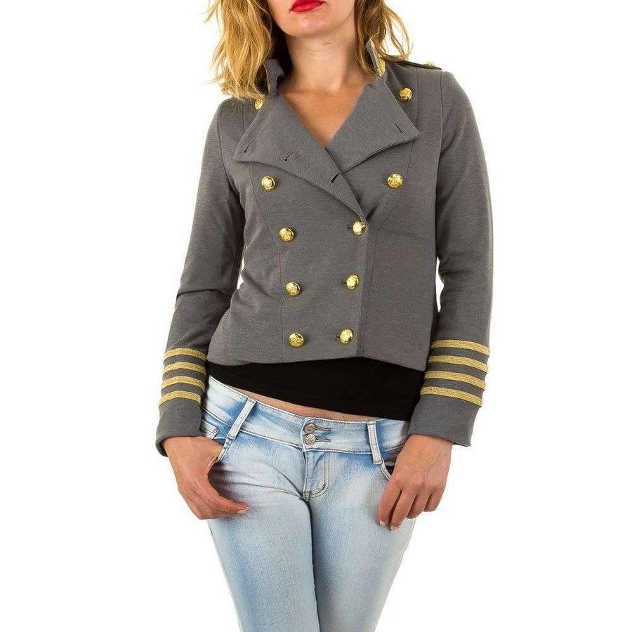 Damen Kapitän Jack - grau
