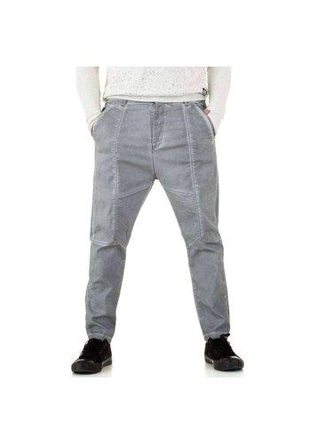 Y.Two Jeans Herrenhose - hellgrau