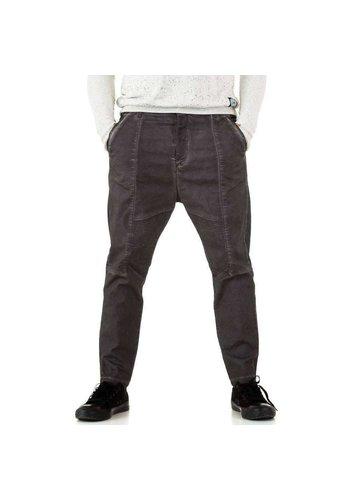 Neckermann Y.Two Jeans Hommes Pantalons - gris foncé