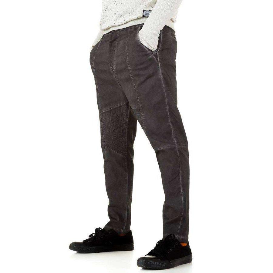 Y.Two Jeans Herrenhose - dunkelgrau