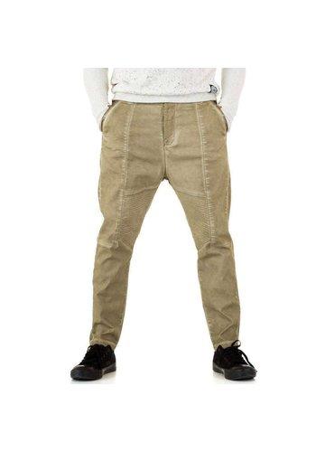 Neckermann Pantalon homme par Y.Two Jeans - camel