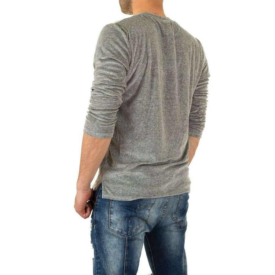 Herren Sweatshirt von Y.Two Jeans - grey