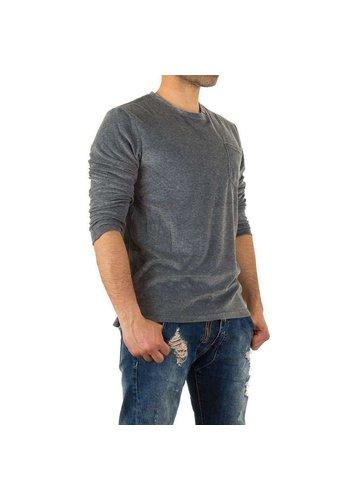 Neckermann Sweatshirt Homme par Y.Two Jeans - D.grey