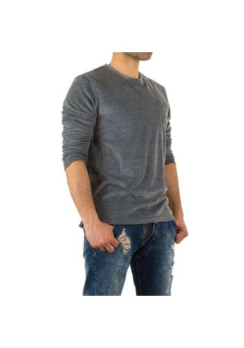 Y.Two Jeans Herren Sweatshirt von Y.Two Jeans - D.grey