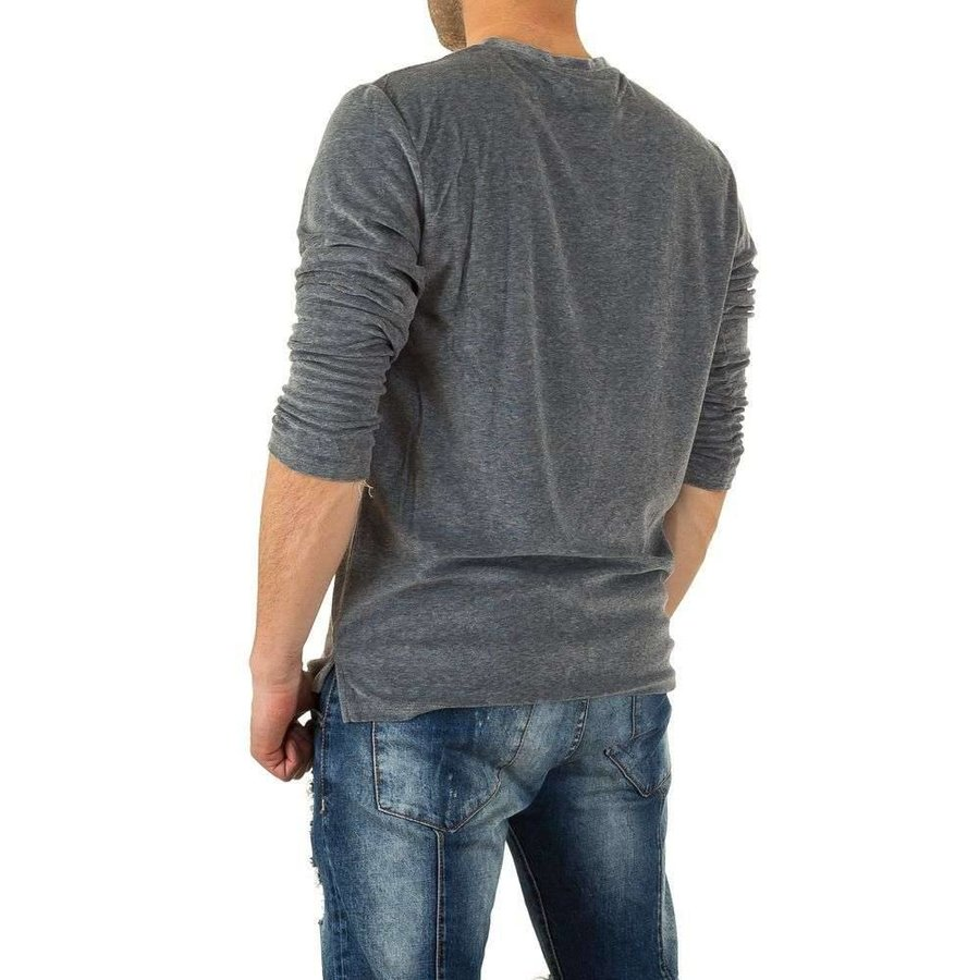 Herren Sweatshirt von Y.Two Jeans - D.grey