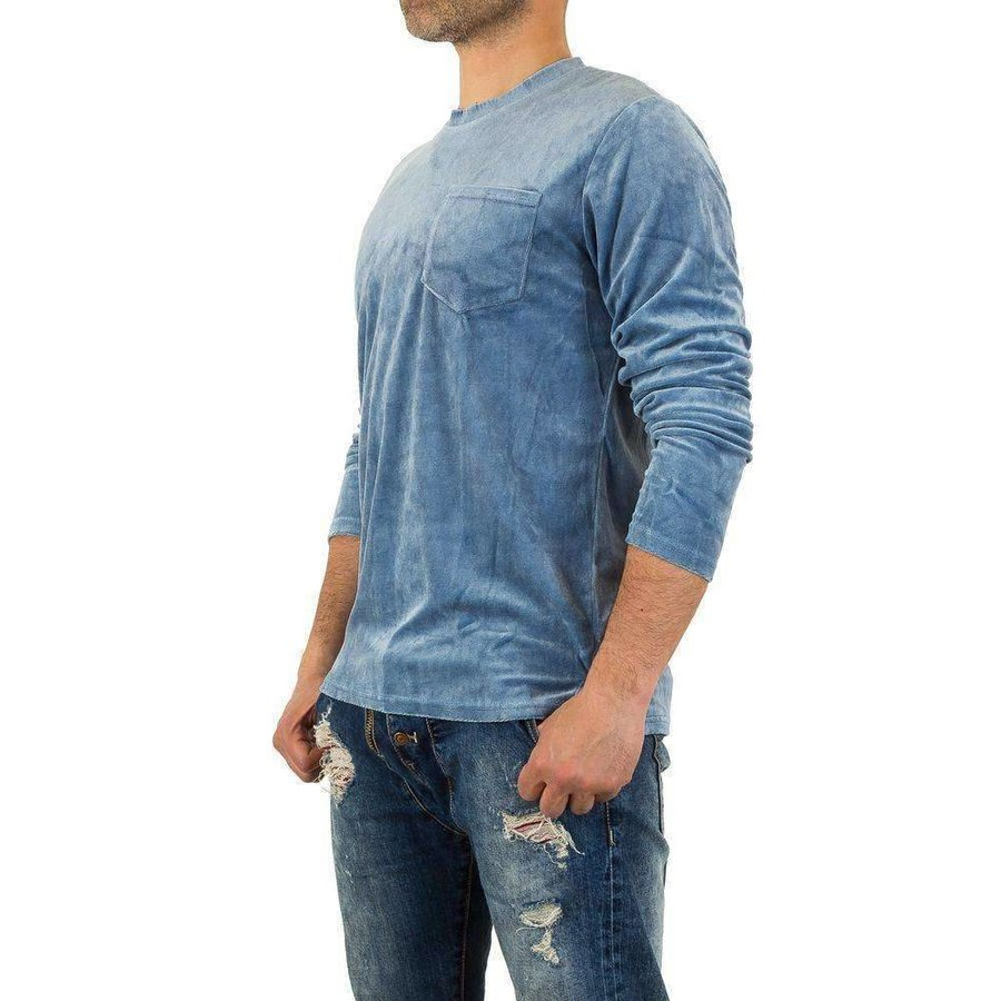 Herren Sweatshirt von Y.Two Jeans - blue