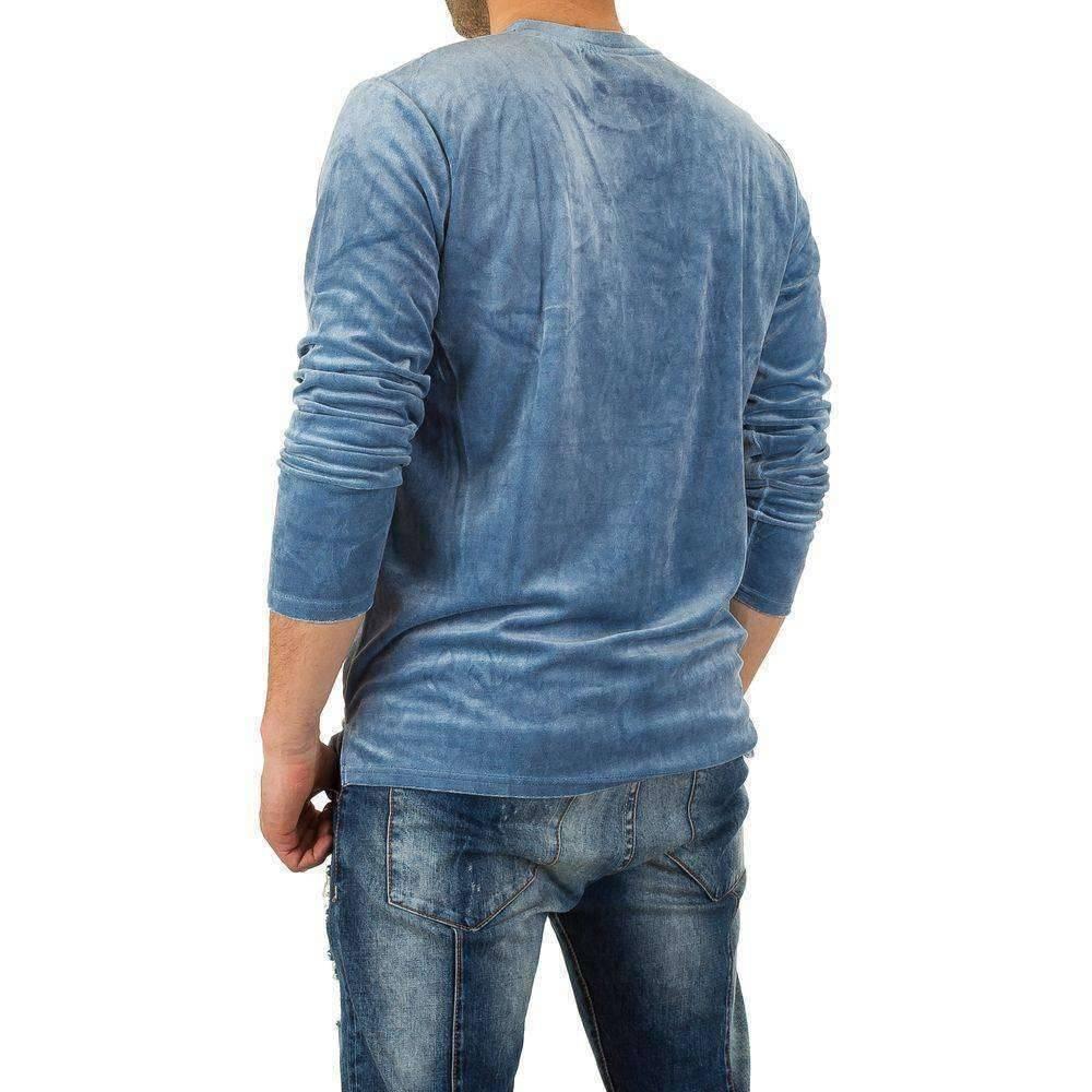 Heren Trui Blauw.Neckermann Heren Sweater Blauw