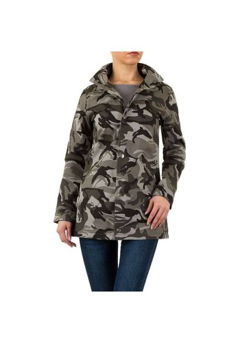 Daysie Jeans Fitted Damenjacke - Camouflage