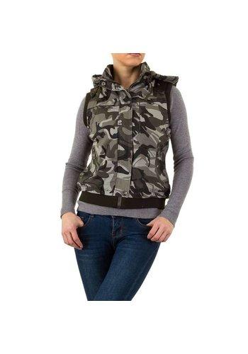 Daysie Jeans Damen Bodywarmer - Camouflage