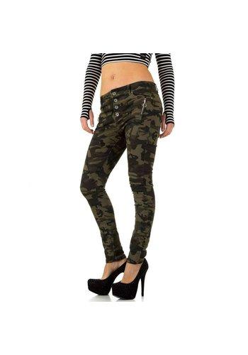 NEW PLAY Damen Jeans von New Play - armygreen