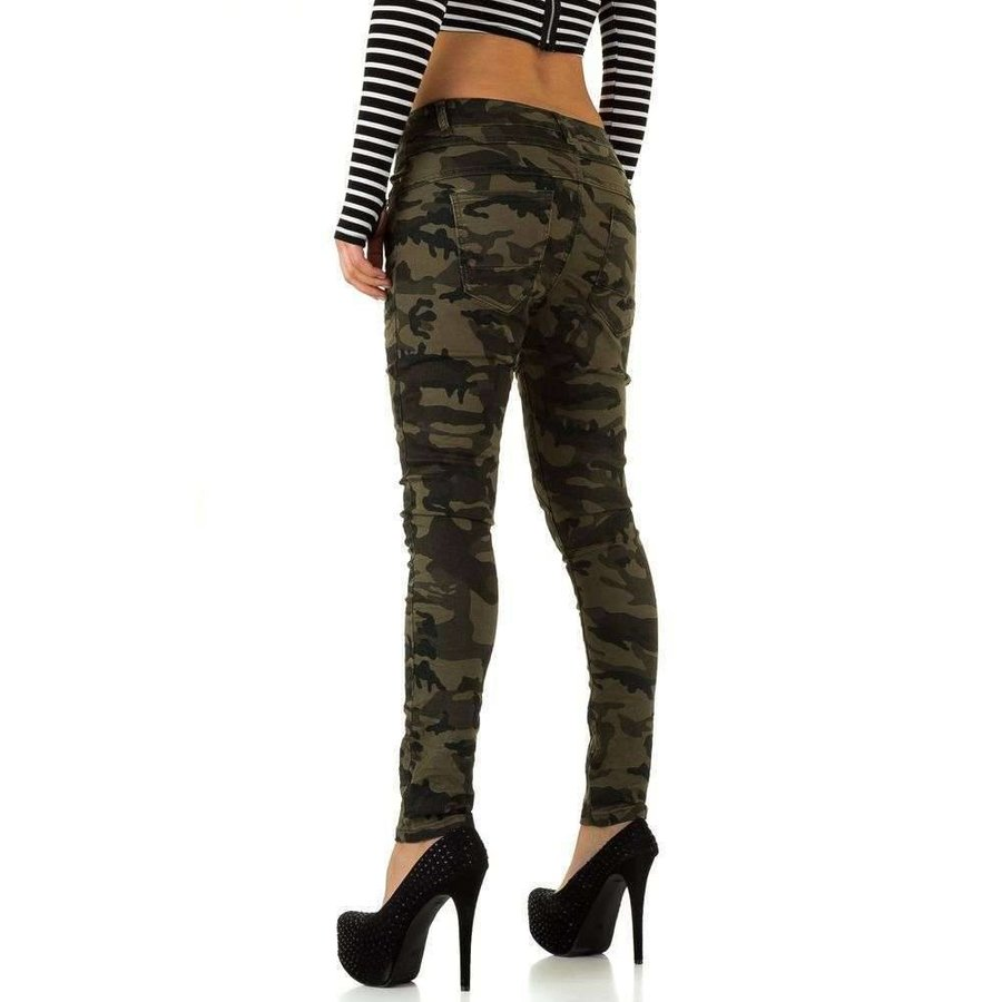 Damen Jeans von New Play - armygreen