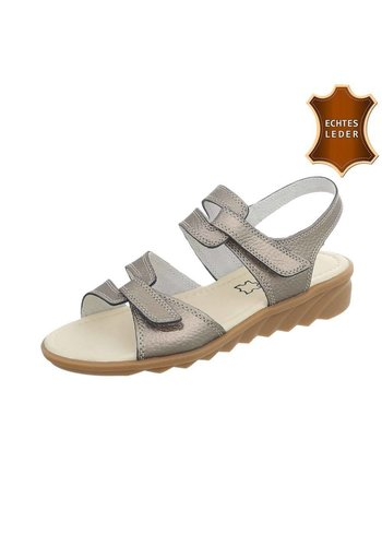Neckermann Damen Sandalen - Bronze Leder