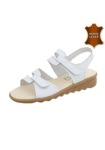 Neckermann Dames Sandalen - wit leer