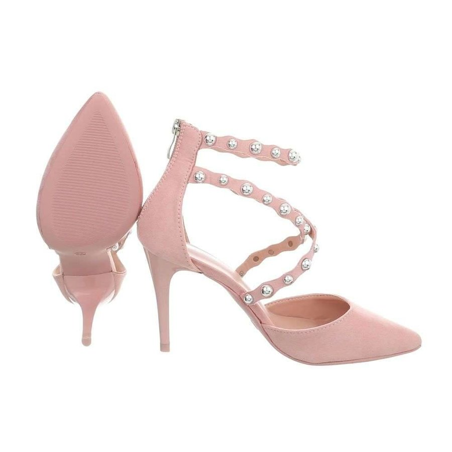 Damen High Heel Schuhe - Rosa