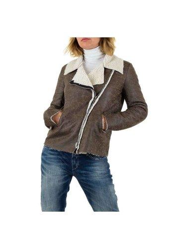 CARLA GIANNINI Ladies Lammy Coat - gris