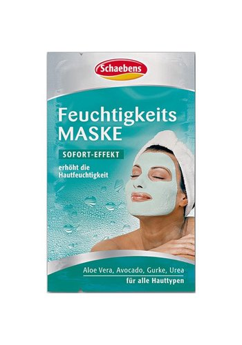 Schaebens Masque facial Schaebens masque d'humidité lot de 2x5ml