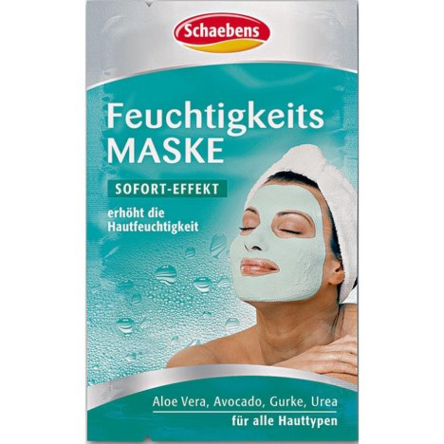 Gesichtsmaske Schaebens Feuchtigkeitsmaske 2x5ml