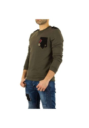 Neckermann Herren Sweatshirt von Uniplay - khaki