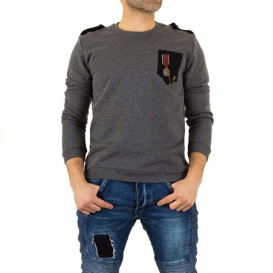 Herren Sweatshirt von Uniplay - grey