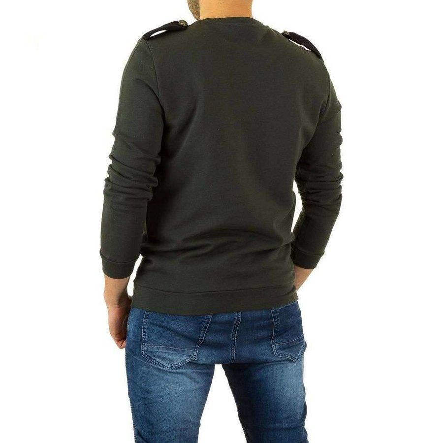 Herren Sweatshirt von Uniplay - DK.green