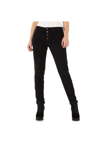 PLACE DU JOUR Dames jeans - zwart