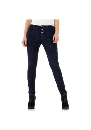 PLACE DU JOUR Dames Jeans - marine