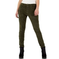 Damen Jeans - khaki