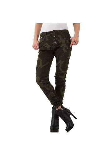 PLACE DU JOUR Dames Jeans - leger