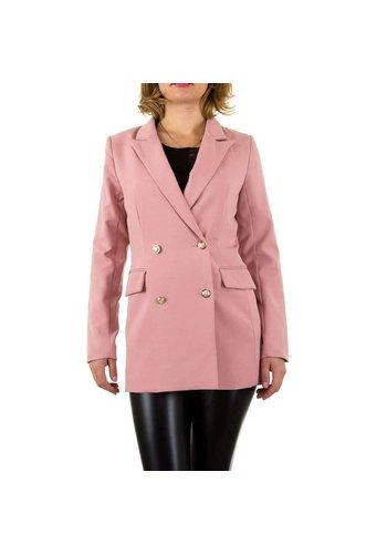 SHK PARIS Damen Blazer Jacke - pink