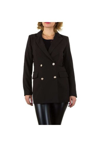 SHK PARIS Damen Blazer Jacke - schwarz