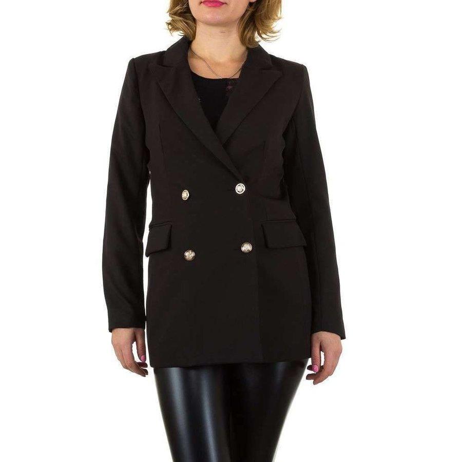 Damen Blazer Jacke - schwarz