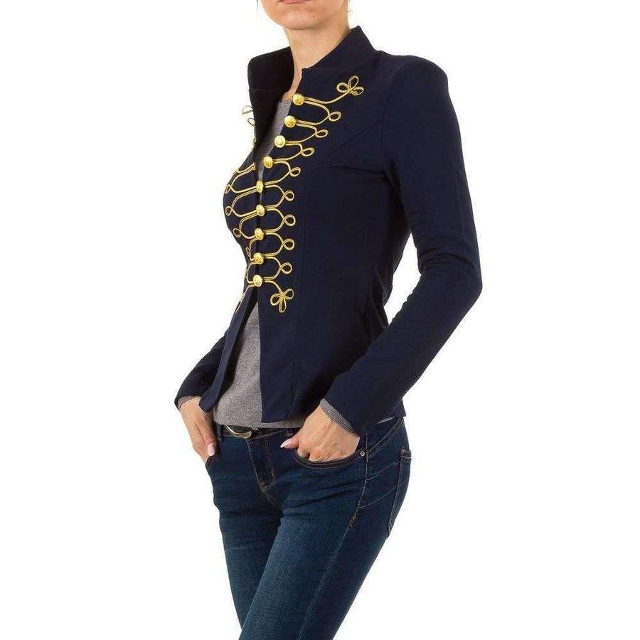 Damen Renaissance Blazer - blau