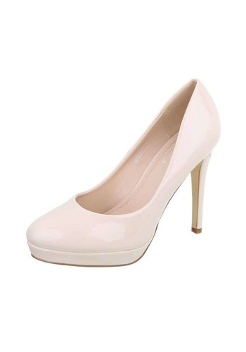 Neckermann Dames Pumps - nude lak