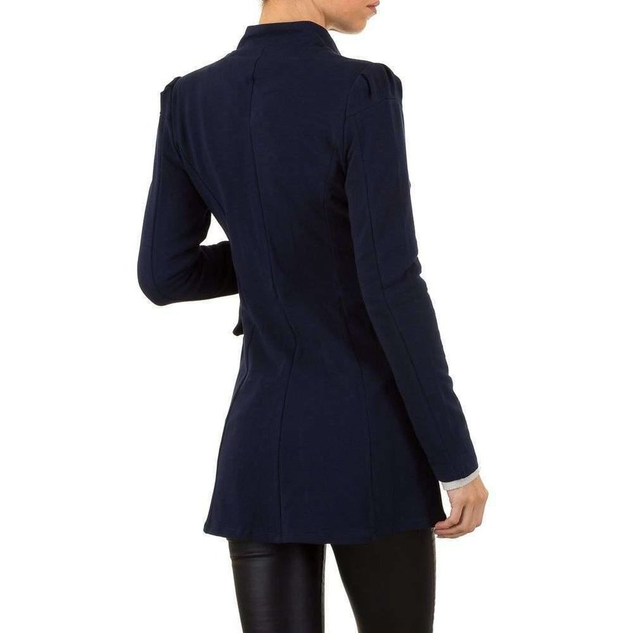 Lange Damen Blazer - DK.blau