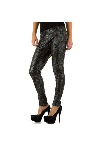 NEWPLAY Niedrige Damen Jeans - Armee
