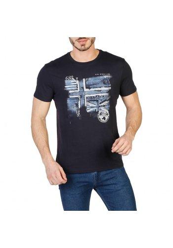 Napapijri Heren T-shirt N0YHCX - zwart